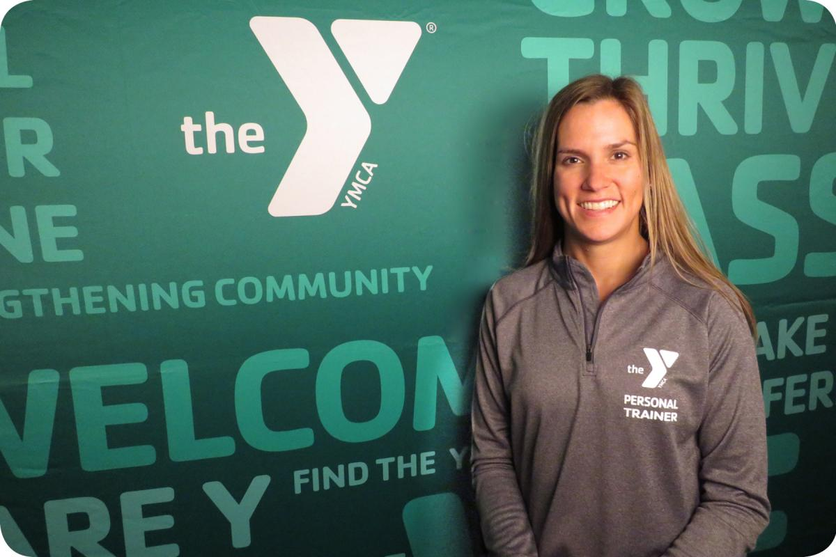 Meet the trainers ymca of monroe county amy has a bs in health and fitness management as well as being an ace certified personal trainer and group exercise instructor aea certified aquatics xflitez Image collections