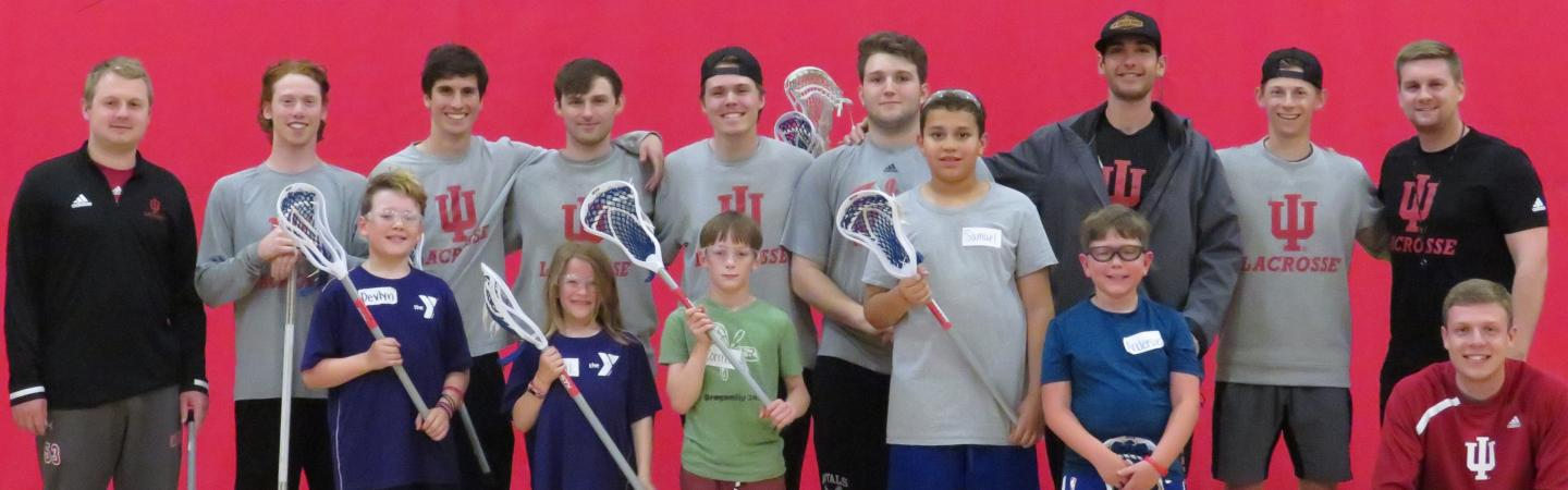 Youth lacrosse league at Monroe County YMCA