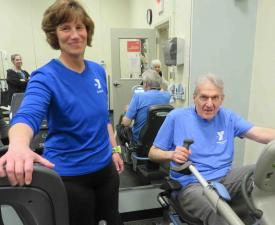 Transforming Life from Cloudy to Rainbows: YMCA Healthy Hearts and Active Lives' Impact on Aging Adults